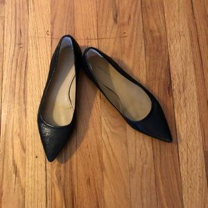Ugg Black Pointy Toe Flats Sz 8